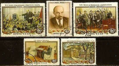 Russia,Sc#1694-1698,(Full set),Fresh,Used,XF