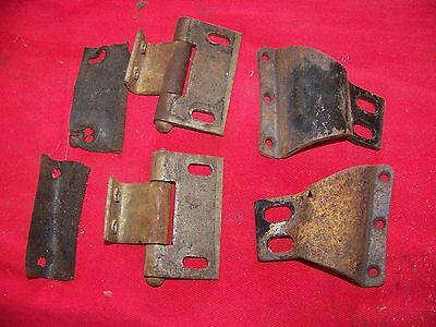 1939 dodge truck windshield hinges upper good condition
