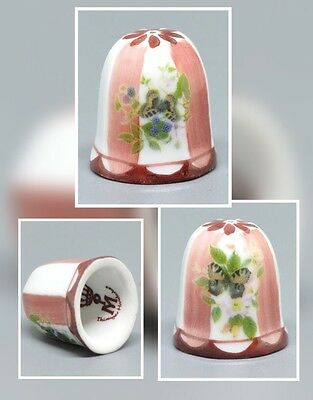 "Porcelain  thimble by ""MARTINRODA"" Germany"
