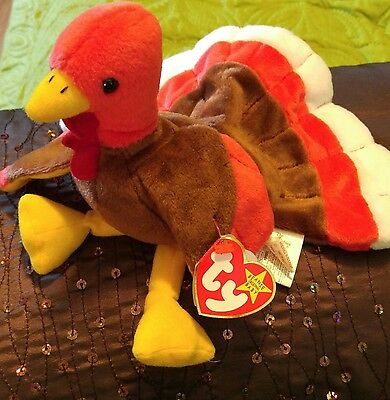Ty beanie baby gobbles turkey ERRORS! Indonesia