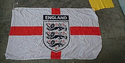 England flag St George's massive 1x2 meters come on England rooney sterling