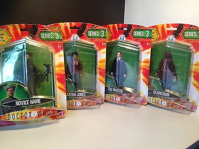Doctor Who sealed action figures