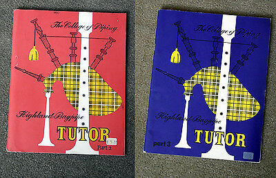 Bagpipe Tutor - College of Piping Books 2 & 3
