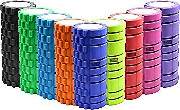 Foam Roller Grid Beast Massage Pilates Trigger Point Yoga Gym Roller