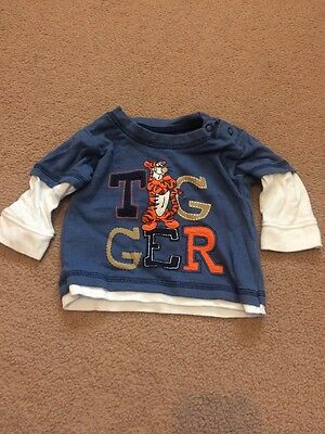 Disney Tigger Boys FIRST SIZE Long sleeved Top