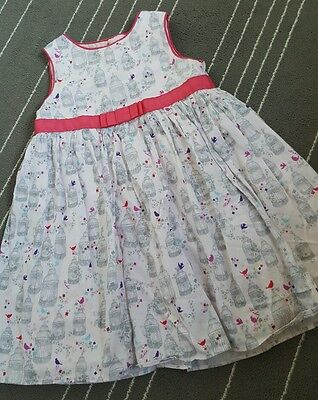 Ted baker, Baby baker. Girls dress, 18-24 months.summer birds