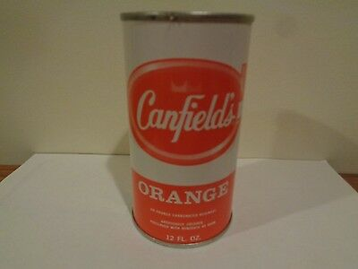Vintage Canfield's Orange Soda 12 OZ Can