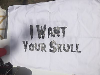 Misfits I Want Your Skull Pillow Case Set
