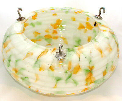 Glass Ceiling Light Shade, Art Deco Era, 1930's, Vintage light fitting, gorgeous