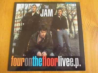 The Jam - Four On The Floor Live EP - Vinyl EP Record   Rare