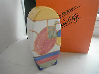 "Clarice Cliff ""melons"" Sugar Shaker/sifter - Boxed & Cert'"