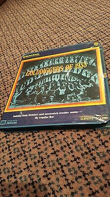 Super 8MM Film: Golddiggers of 1933 (Musical, Black & White With Sound)
