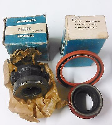 poly chrysler v8 thrust bearing and oil seals for manual box