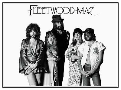 Fleetwood Mac POSTER Stevie Nicks Lindsey Buckingham 70's Classic Rock RUMOURS