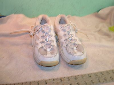 Z-Coils Pain Relief Footwear Women's size 7 shoes white leather euro 38 UK 4.5