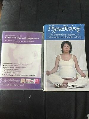 Hypnobirthing Book By Marie Morgan and a DVD