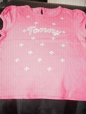 Tommy Hilfiger Baby Girls Pink T-Shirt Ages 18 months