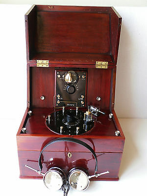 Vintage Rare-Unique 1925 Crystal Radio-Amplifier Set# L.m. Ericsson-Stockholm #