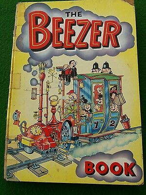 The BEEZER BOOK Annual - Year 1962 - RARE in fair condition