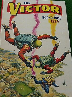 The Victor Book for Boys 1969 Annual very good condition