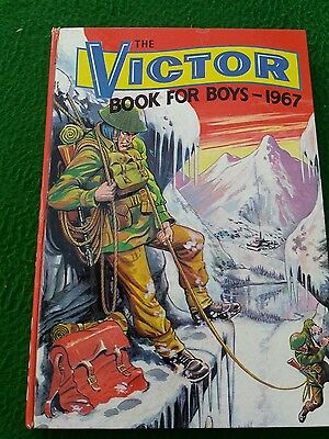 the victor book for boys 1967 Very good condition