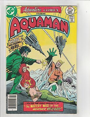 Adventure Comics (1938) #450 FN/VF 7.0 DC Comics Aquaman app.