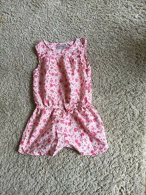 NEXT GIRLS PLAYSUIT AGED 3 Good Condition