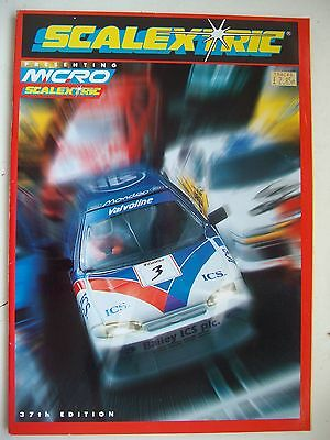Scalextric 37th Catalogue 1996 Ex Shop Stock Mint Unused