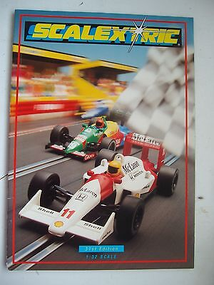Scalextric 31st Catalogue 1990 Ex Shop Stock Mint Unused