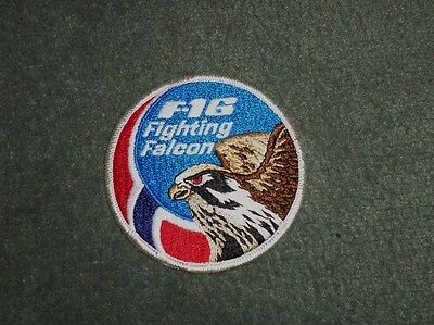 United States Air Force USAF F-16 Fighting Falcon Fighter Aircraft Patch US, NEW