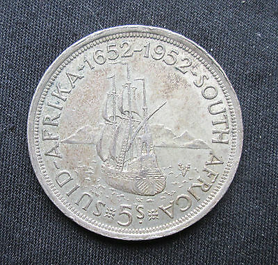 South Africa: 5 Shilling 1952 KM#41 (Silver)