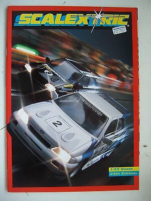 Scalextric 34th Catalogue 1993 Ex Shop Stock Mint Unused