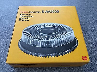 Kodak S-AV2000 Carousel Slide Tray For Projector Slideshow Photography