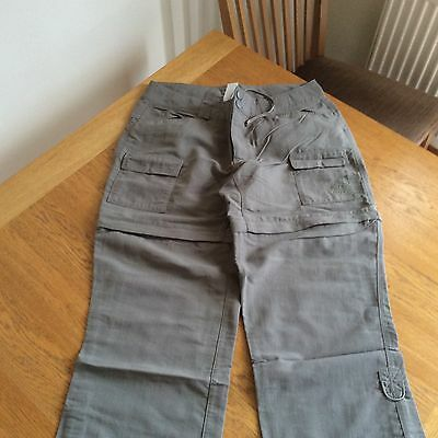North Face Size 12 Ladies Convertible Walking Pants