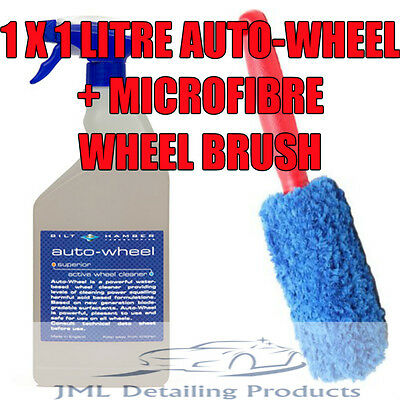 Bilt Hamber Auto-Wheel 1 Litre Alloy Cleaner Iron Remover + Microfibre Brush
