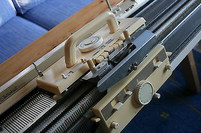 Brother KH 950i Electronic Knitting Machine, KR 850 Ribber, Plus All Accessories