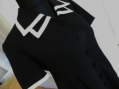 Mimi Black maternity top UK small Excellent cond!