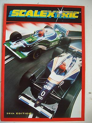 Scalextric 36th Catalogue 1995 Ex Shop Stock Mint Unused