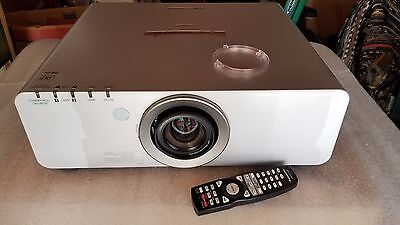 Panasonic PT-D6000US DLP Projector with Lens and Remote Control