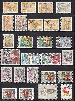 Monaco Mint & Used 1989 collection CV £90