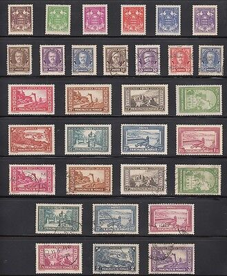 Monaco Mint & Used 1933-1939 selection on 1 page CV £184.