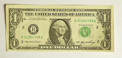 One UNCIRCULATED ONE DOLLAR note, series 2006