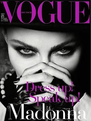 MADONNA - VOGUE DEUTSCH COVER #3 of 3 GERMANY APRIL 2017 NEW MINT MAGAZINE