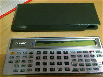 Vintage Sharp ElsiMate EL-5100 Scientific Calculator Calcolatrice scientifica