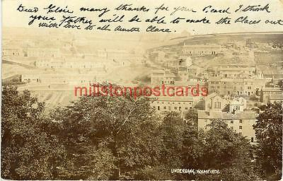 Real Photographic Postcard Of Underbank, Holmfirth, West Yorkshire By Bamforth