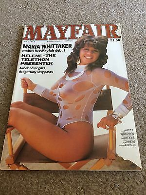 Mayfair Vintage Mens Glamour Magazine Vol 23 No 6 Feat Maria Whittaker !