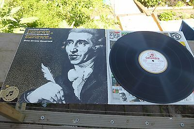 Haydn String Quartets Drolc Columbia Stereo German ED1 STC 80 545 LP