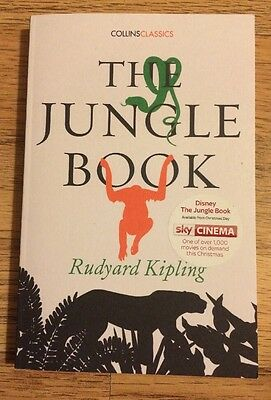 The Jungle Book By Rudyard Kipling Paperback Brand New.