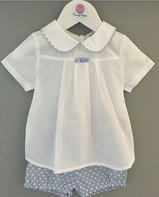 Beautiful Baby Boy Or Girl Spanish Outfit Brand New Age 12month