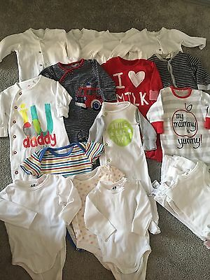 Baby Boy Bundle Next H&M M&S Aged 0-3 Months